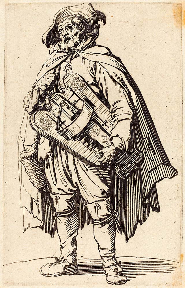 "Жак Калло ""The Hurdy-Gurdy Player"""